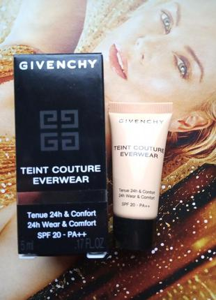 Givenchy тональная основа teint couture everwear  № y205, 5мл