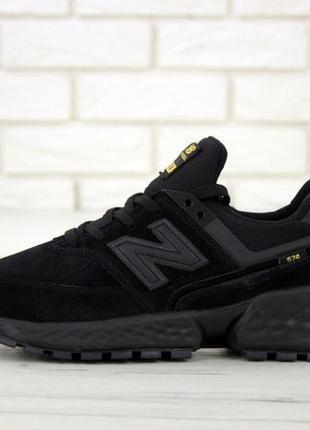Мужские кроссовки New Balance 574 Sport Black. Кросівки Нью Бе...