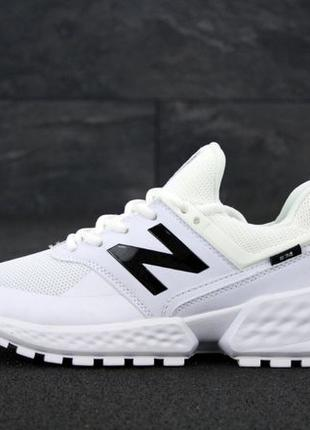 Мужские кроссовки New Balance 574 Sport White. Кросівки Нью Бе...