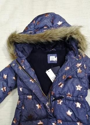 Пальто для девочки 3г, 4г, baby gap