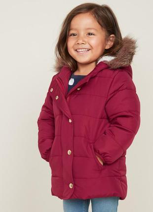 Стильная удлиненная куртка на девочку old navy