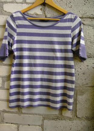 Полосатая футболка m&s.