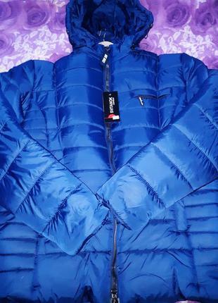 Мужская зимняя куртка большой размер скидка