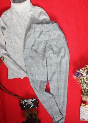 Стильные штаны , брюки в клетку