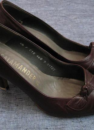 Туфли salamander кожа, 36 размер