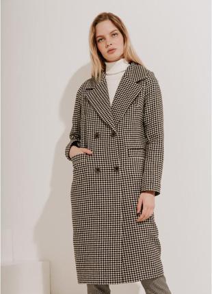 2020! valentir шерстяное пальто длинное классическоегусиная лапка