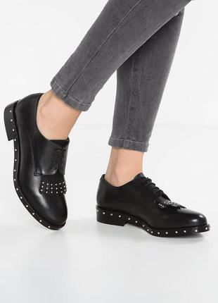 #розвантажуюсь фирменные кожаные туфли лоферы оксфорды minelli...