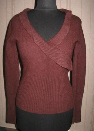 Теплый свитер 90% ангоры
