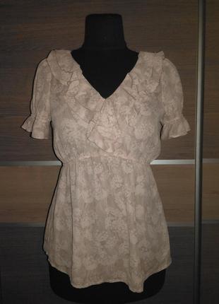 Блузка с рюшами, h&m