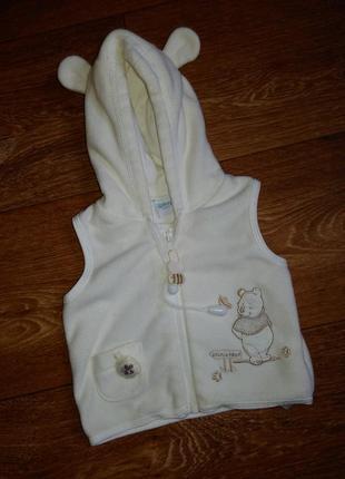 Милая жилетка на новорожденного с винни пухом, disney baby