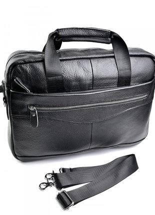 Мужская кожаная сумка а4 портфель кожаный шкіряний