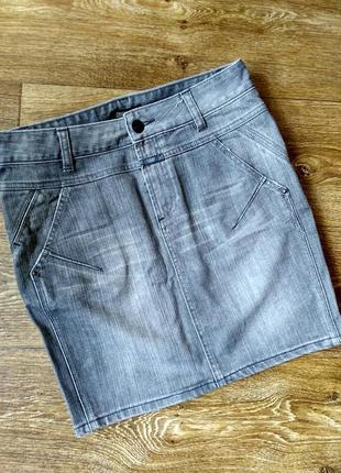 Юбка из плотного джинса closed 27 размер