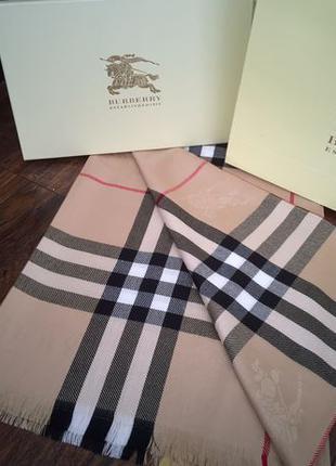 Палантин Burberry в Подарочной Упаковке + Сертификат