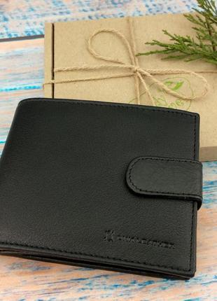 Мужское портмоне из натуральной кожи dnk n992l-ccf