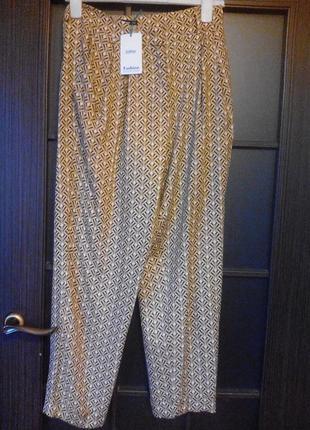 Модные пижамные брюки 7\8