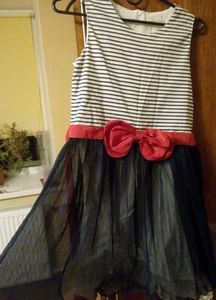 Праздничное платье в морском стиле wonderland