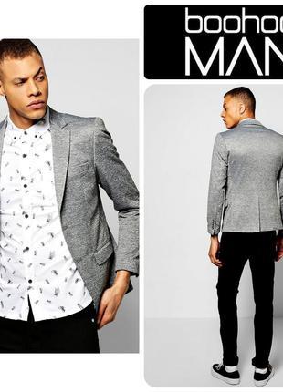 Крутой стильный блейзер,пиджак от boohoo