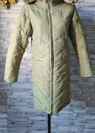 Зимняя куртка пальто удлиненная на девочку подростка