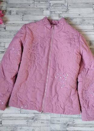 Куртка утепленная демисезонная женская