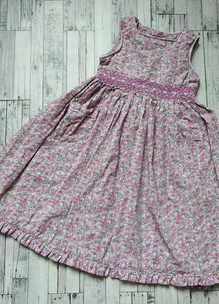 Летнее платье на девочку marks&spencer