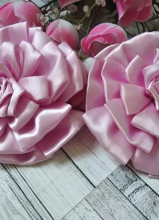 Банты бантики резинка цветок на голову для девочку
