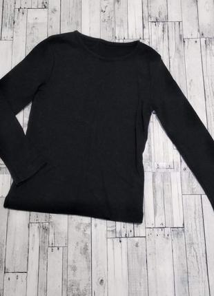 Реглан кофта george черный в рубчик на девочку или мальчика