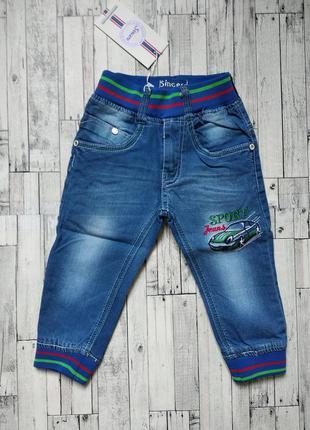 Джинсовые брюки на мальчика sincere на резинке