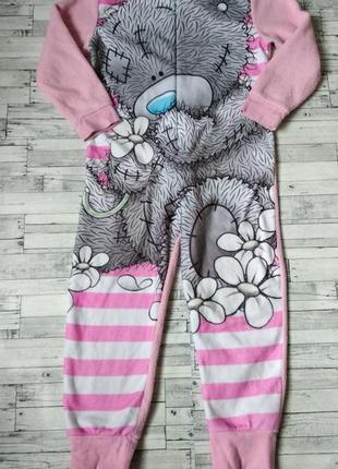 Кигуруми слип пижама me to you на флисе для девочки розовый ми...