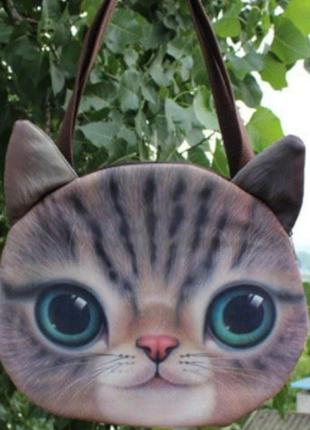 😸😽сумка с 3d принтом кошка котик кот❤️ 😻