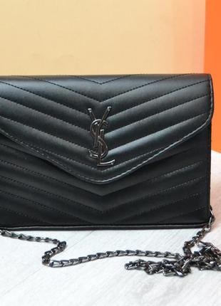Женская сумка в стиле yves saint laurent ив сен лоран
