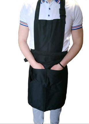 Фартук для бариста повара официанта, продажа спецодежды