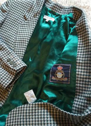 Giorgio armani/новый твидовый блейзер-пиджак от люксового брен...