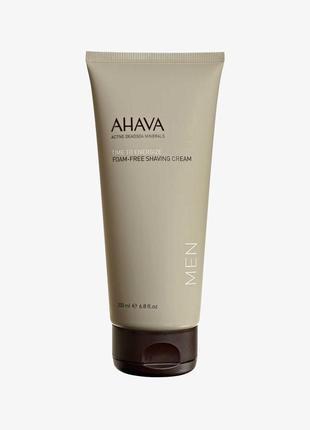 Ahava/израиль/мягкий крем для бритья без пены с минералами мер...