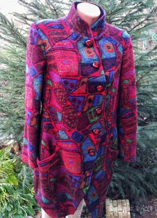 Aventures des toiles/дизайнерское шерстяное пальто из парижа