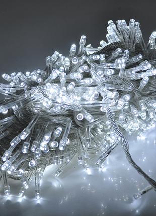 Гирлянды 100LED (Диод) White, 7 метров, 5 режимов, прозрачная ...