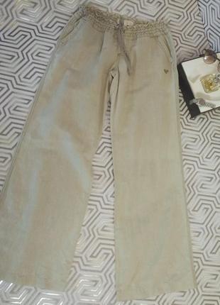 Roxy/льняные брюки именитого австралийского бренда