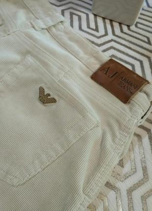 Armani оригинальные брюки из микровельвета