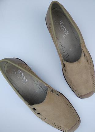 Jenny by ara /германия/кожаные туфли с ортопедической стелькой...