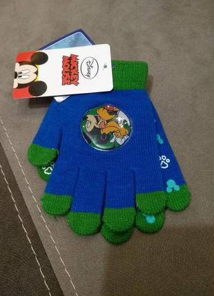 Перчатки disney mickey mouse