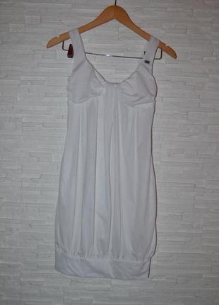 Белое мини платье miss sixty