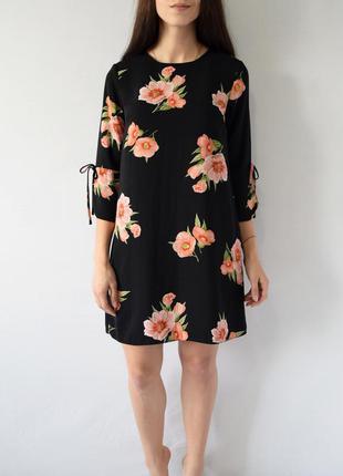 Платье в цветочный принт dorothy perkins