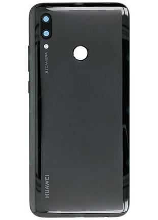 Задняя крышка Huawei P Smart 2019 POT-LX1 черная Сервисный ори...