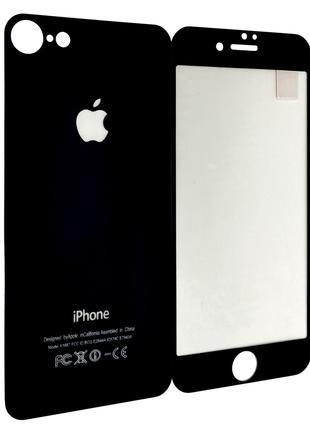 Защитное стекло DK Mirror Full Glue back / face для Apple iPho...