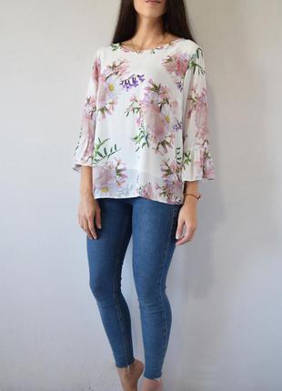 Блузка в цветы wallis