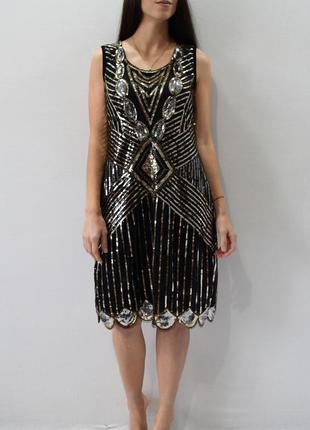 Платье в пайетки pretty guide