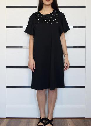 Платье с бусинками (новое. с биркой) tu