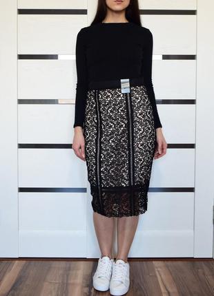 Кружевная юбка (новая. с биркой) primark
