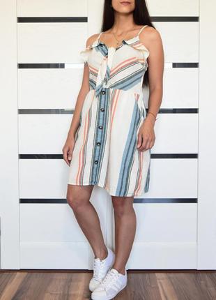 Платье в полоску {новое, с биркой} f&f