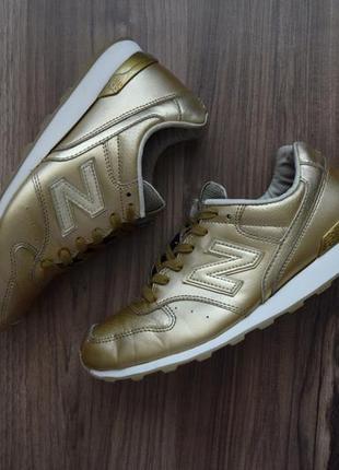 Золотые кроссовки new balance 996