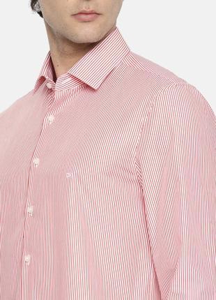 Яркая легкая рубашка в полоску calvin klein jeans